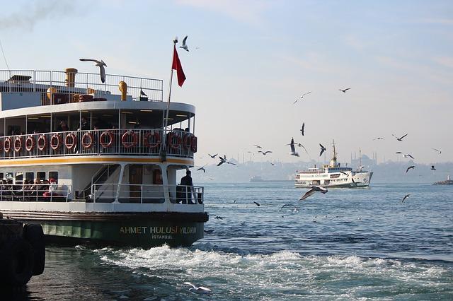 výletná loď v Turecku