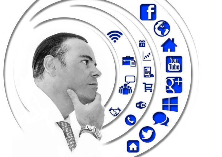 Podnikateľ, sociálne siete, uvažovanie
